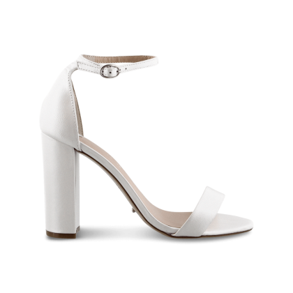 Kokomo White Pearl Heels by Tony Bianco Shoes