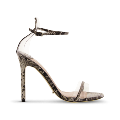 Kosumi Natural Snake Heels by Tony Bianco Shoes