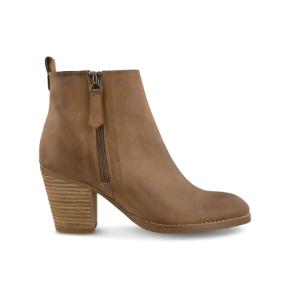 Lance Rust Diesel/Choc Wax Ankle Boots by Tony Bianco Shoes