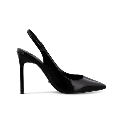 Latoir Black Patent Heels by Tony Bianco Shoes