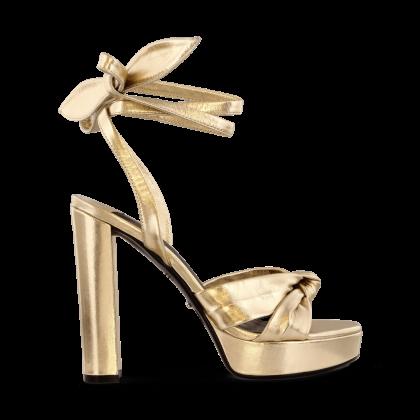 Lomax Gold Matt Metallic Heels by Tony Bianco Shoes