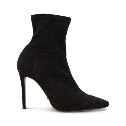 Lottie Black Wash Denim Ankle Boots by Tony Bianco Shoes