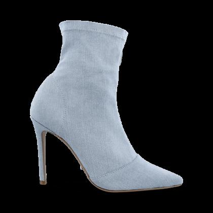 Lottie Blue Wash Denim Ankle Boots by Tony Bianco Shoes