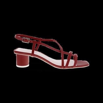 Perri Brick Kid Heels by Tony Bianco Shoes