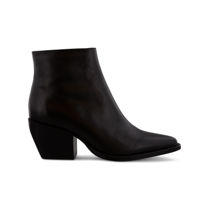 Primo Black Como Ankle Boots by Tony Bianco Shoes