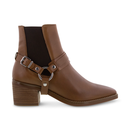 Sabana Rust Diesel/Choc Wax Ankle Boots by Tony Bianco Shoes