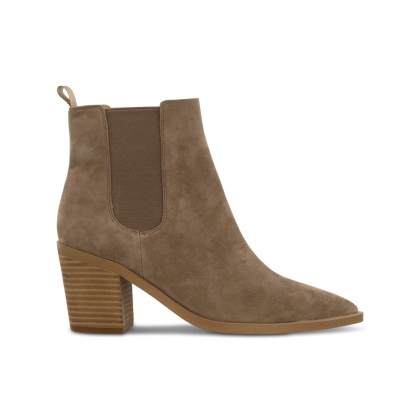 Sabrine Natural Kid Suede Ankle Boots by Tony Bianco Shoes