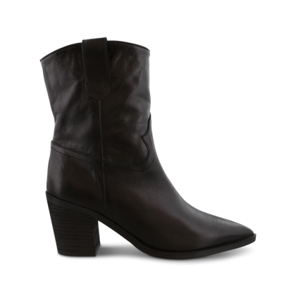 Scout Black Luxe Ankle Boots by Tony Bianco Shoes