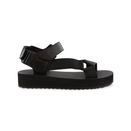 Sia Black Sandals by Tony Bianco Shoes