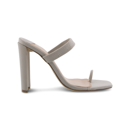 Sierra Stone Lycra Heels by Tony Bianco Shoes