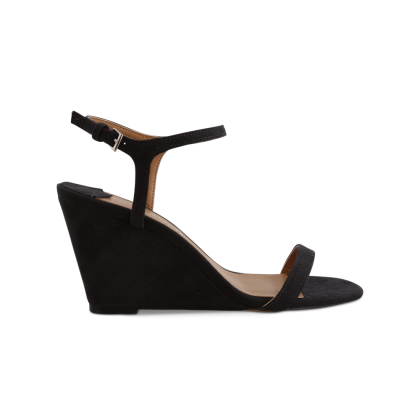 Tanita Ink Kid Suede Wedges by Tony Bianco Shoes