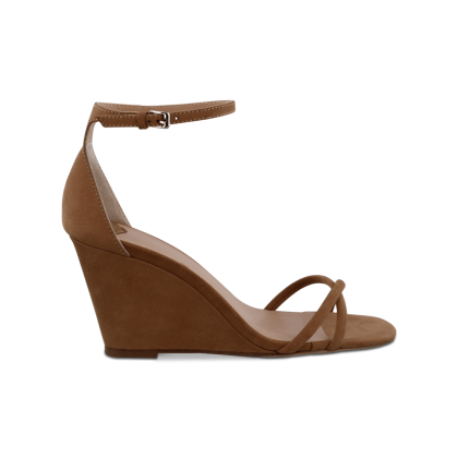 Tazia Caramel Phoenix Wedges by Tony Bianco Shoes