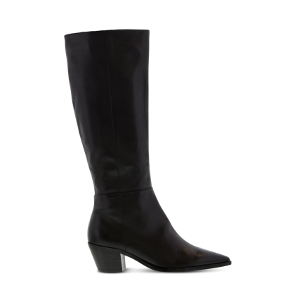 Tytan Black Como Long Boots by Tony Bianco Shoes