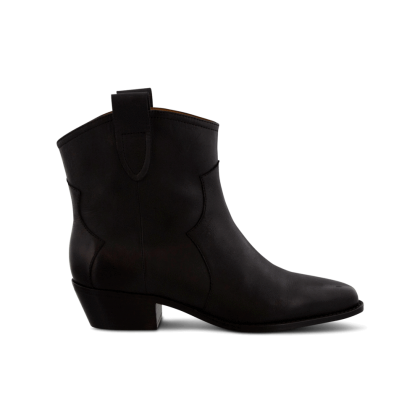 Westin Black Diesel Polish Ankle Boots by Tony Bianco Shoes