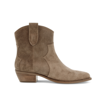 Westin Natural Suede Ankle Boots by Tony Bianco Shoes