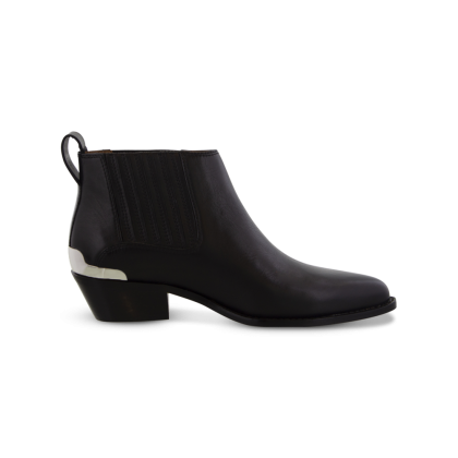 Wynston Black Jetta Ankle Boots by Tony Bianco Shoes