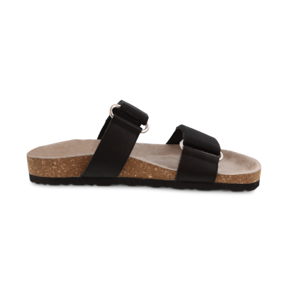 Zayne Black Grosgrain Sandals by Tony Bianco Shoes