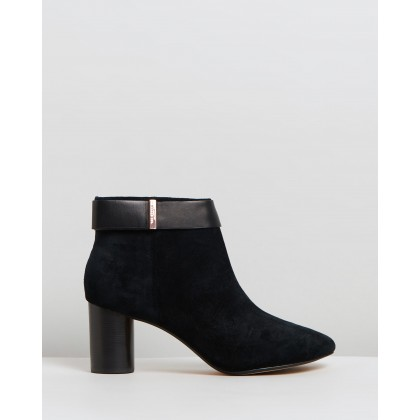Mharia Black Suede by Ted Baker
