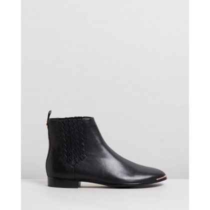 Liveca Black Leather by Ted Baker