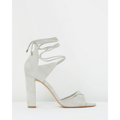 Origami Sandal Oyster Suede by Mode Collective