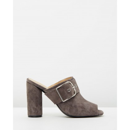 Anthea Charcoal Suede by Mode Collective