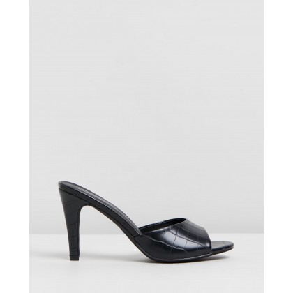 Yvette Black Croc by Therapy