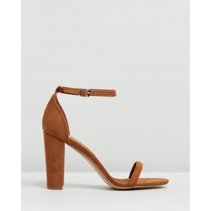Amelie Tan Faux Suede by Therapy