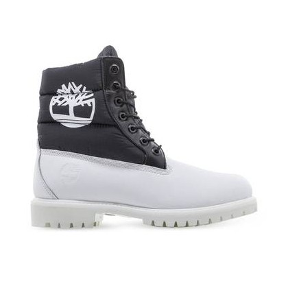 White Nubuck - Men's 6-Inch Premium Puffer Boot Https://Www.Timberland.Com.Au/Shop/Sale/Mens/Boots Shoes by Timberland