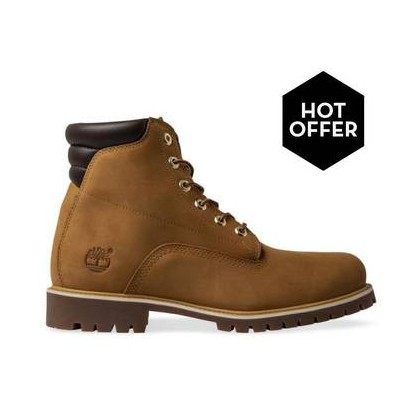 Wheat Nubuck - Men's 6-Inch Alburn Boot Https://Www.Timberland.Com.Au/Shop/Sale/Mens/Boots Shoes by Timberland