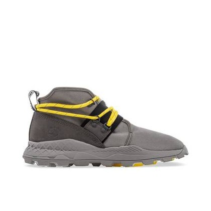 Medium Grey Ripstop - Brooklyn Leather and Fabric Chukka Https://Www.Timberland.Com.Au/Shop/Sale/Mens/Sneakers Shoes by Timberland