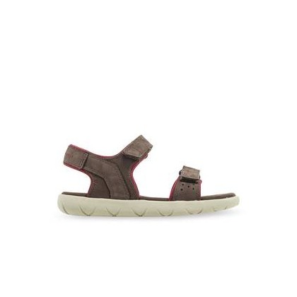 Dark Brown Nubuck - Kid's Nubble Sandal Https://Www.Timberland.Com.Au/Shop/Sale/Mens/Sneakers Shoes by Timberland
