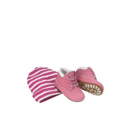 Fuschia Rose - Kids Infant Crib Booties Https://Www.Timberland.Com.Au/Shop/Sale/Kids/Footwear Shoes by Timberland