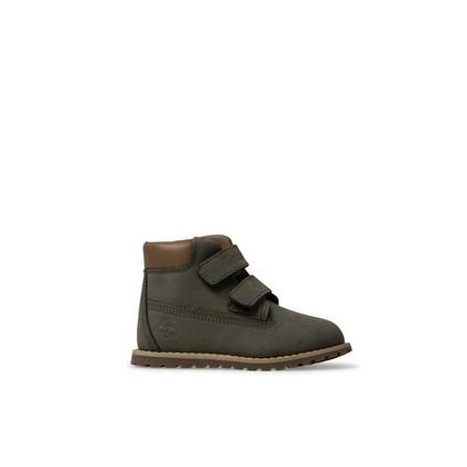 Dark Green Nubuck - Kids Toddler Pokey Pine H&L Https://Www.Timberland.Com.Au/Shop/Sale/Kids/Footwear Shoes by Timberland