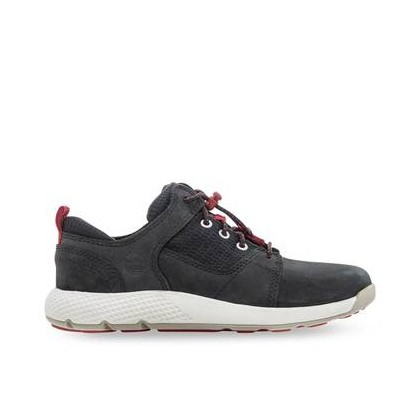 Black Nubuck - Kids Youth Flyroam Oxford Https://Www.Timberland.Com.Au/Shop/Sale/Kids/Footwear Shoes by Timberland