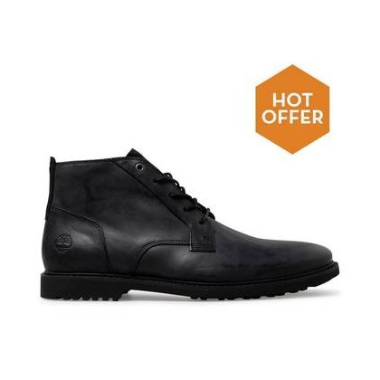 Jet Black Cow Dandy - Men's Lafayette Park Chukka Boots Https://Www.Timberland.Com.Au/Shop/Sale/Mens/Boots Shoes by Timberland