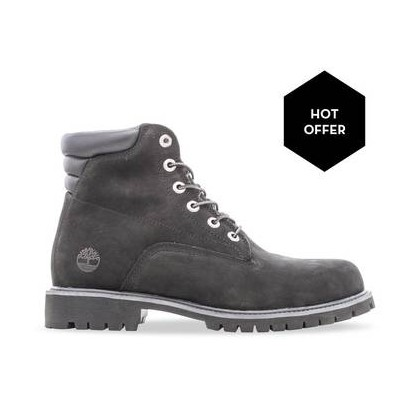 Black Nubuck - Men's 6-Inch Alburn Boot Https://Www.Timberland.Com.Au/Shop/Sale/Mens/Boots Shoes by Timberland