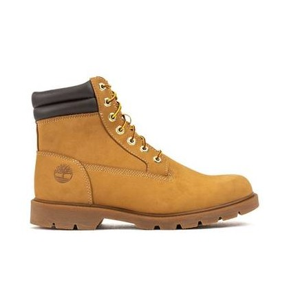 Wheat Nubuck - Men's 6-Inch Basic Boot Mens Shoes by Timberland