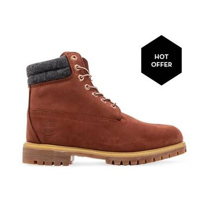 Rust Nubuck - Men's 6-Inch Double Collar Boot Https://Www.Timberland.Com.Au/Shop/Sale/Mens/Boots Shoes by Timberland