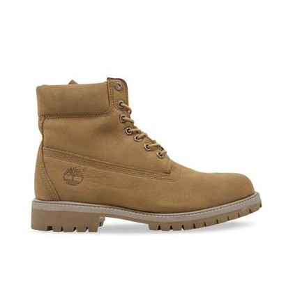 Md Beige Nubuck - Men's 6-Inch Premium Waterproof Boot 6 Inch Boots Shoes by Timberland
