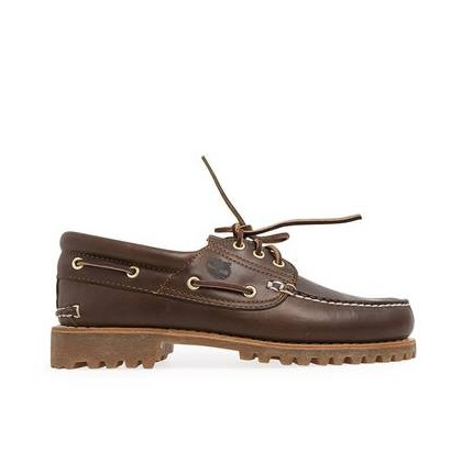 Medium Brown Nubuck - Men's Authentics 3-Eye Classic Boat Shoe Https://Www.Timberland.Com.Au/Shop/Sale/Mens/Boat-Shoes Shoes by Timberland