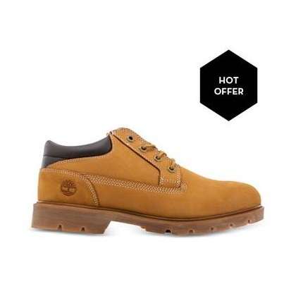 Wheat Nubuck - Men's Basic Oxford Https://Www.Timberland.Com.Au/Shop/Sale/Mens/Boots Shoes by Timberland