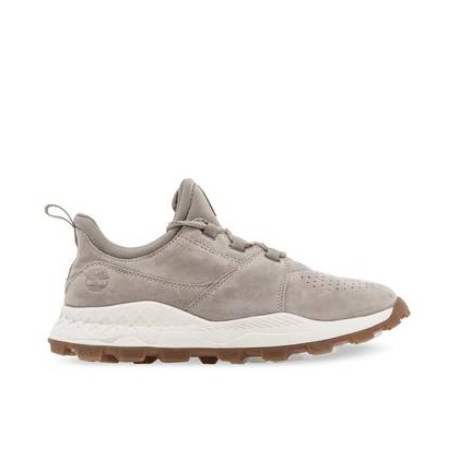 Light Taupe Suede - Men's Brooklyn Perforated Sneakers Footwear Shoes by Timberland