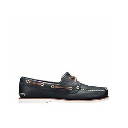 Medium Blue Full-Grain - Men's Classic Boat Shoe Footwear Shoes by Timberland