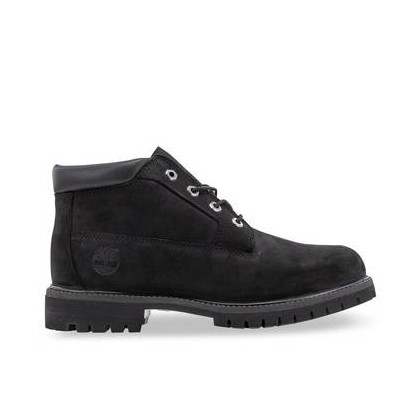 Black Nubuck - Men's Classic Waterproof Chukka Boots Footwear Shoes by Timberland