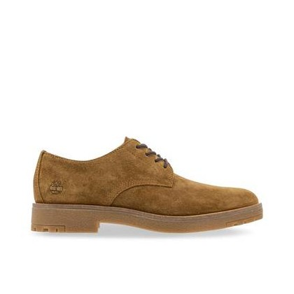 Rust Suede - Men's Folk Gentleman Oxford Footwear Shoes by Timberland