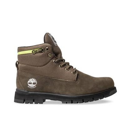 Vecchio WP Canteen - Men's Radford Roll-Top Boot 6 Inch Boots Shoes by Timberland