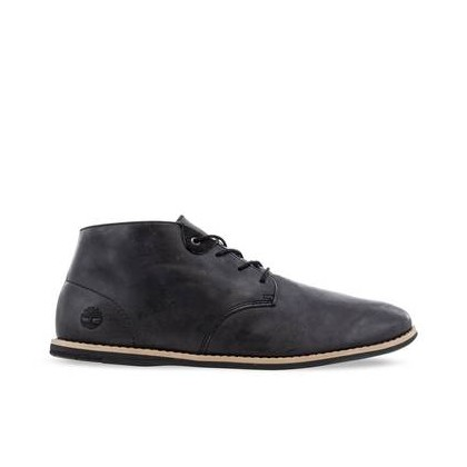 Jet Black Cow Dandy - Men's Revenia Chukka Boots Mens Shoes by Timberland