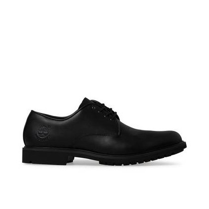 Black Full Grain - Men's Stormbuck Waterproof Oxford Shoe Footwear Shoes by Timberland