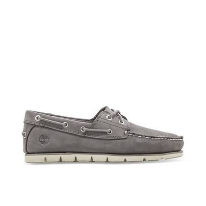 Medium Grey Nubuck - Men's Tidelands Boat Shoe Https://Www.Timberland.Com.Au/Shop/Sale/Mens/Boat-Shoes Shoes by Timberland