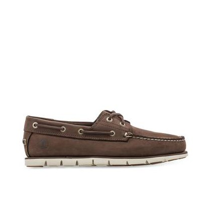 Dark Brown Nubuck - Men's Tidelands Boat Shoe Https://Www.Timberland.Com.Au/Shop/Sale/Mens/Boat-Shoes Shoes by Timberland